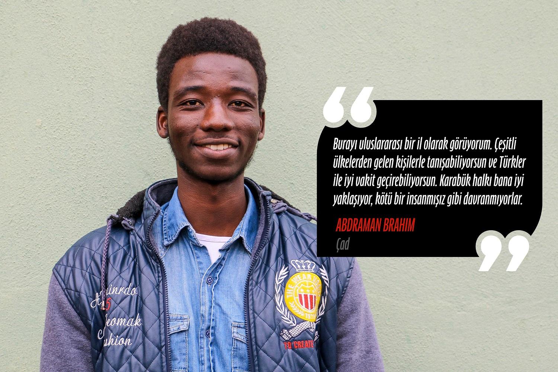 Abdraman Brahim (Fizyoterapi ve Rehabilitasyon) – Çad