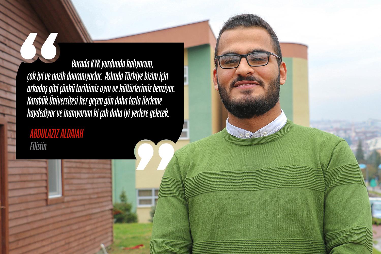 Abdülaziz Aldaiah (Elektrik Elektronik Mühendisliği) - Filistin