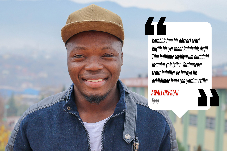 Awali Okpagnı (İngiliz Dili ve Edebiyatı) - Togo