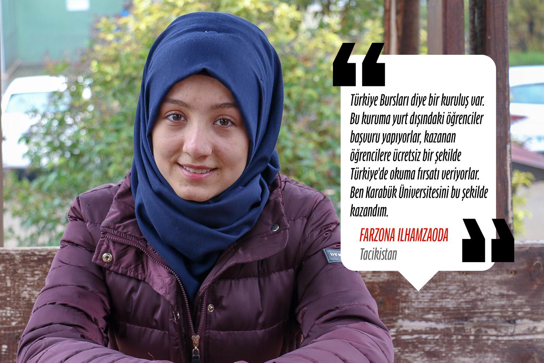 Farzona Ilhamzaoda (Hemşirelik) - Tacikistan