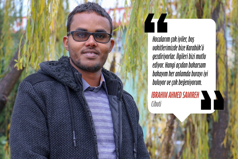 İbrahim Ahmed Samireh (Bilgisayar Mühendisliği) - Cibuti