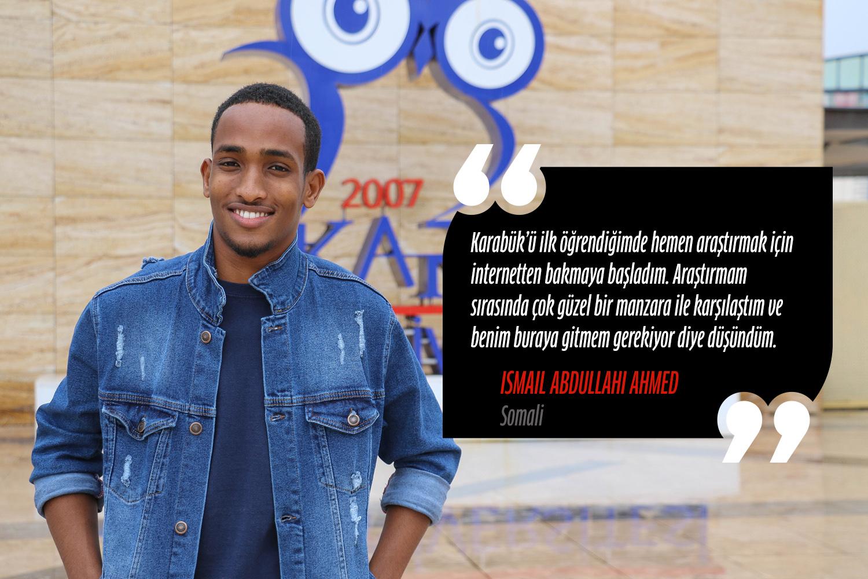 Ismail Abdullahi Ahmed (Endüstri Mühendisliği) - Somali