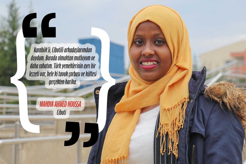 Mahdia Ahmed Houssa (Bilgisayar Mühendisliği) - Cibuti