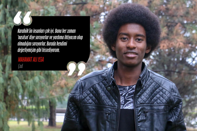 Mahamat Ali Issa (Uluslararası ilişkiler) - Çad