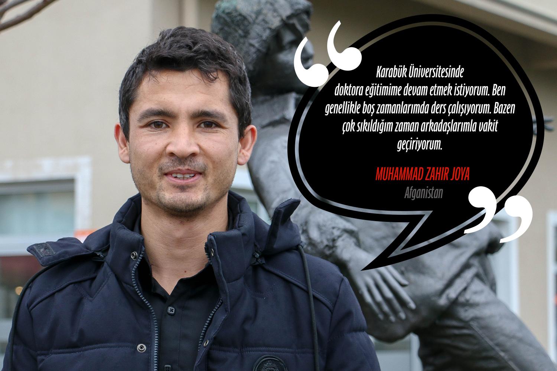 Muhammad Zahir Joya (Türk Dili ve Edebiyatı Yüksek Lisans) - Afganistan
